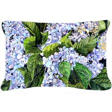 Hydrangea Indoor/Outdoor Throw Pillow