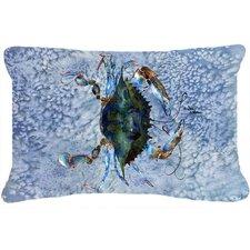 2017 Online Crab Indoor/Outdoor Throw Pillow