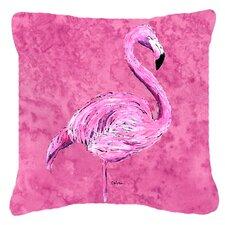 Find Flamingo Indoor/Outdoor Throw Pillow