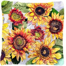 Today Only Sale Sunflower Indoor/Outdoor Throw Pillow