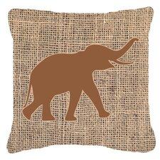Elephant Indoor/Outdoor Throw Pillow
