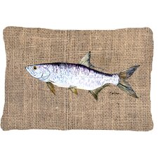 Sale Tarpon Indoor/Outdoor Throw Pillow