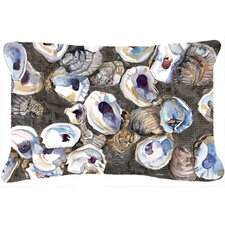 Oysters Indoor/Outdoor Throw Pillow