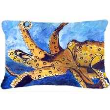Octopus Indoor/Outdoor Throw Pillow
