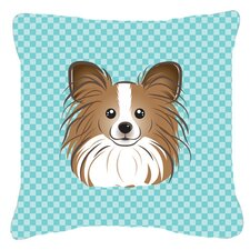 Find Checkerboard Papillion Indoor/Outdoor Throw Pillow