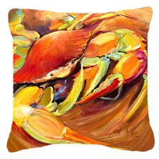 Crab Spice Indoor/Outdoor Throw Pillow