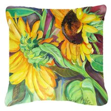 Sunflowers Indoor/Outdoor Throw Pillow