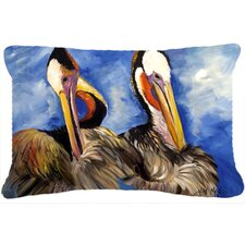 Pelican Brothers Indoor/Outdoor Throw Pillow