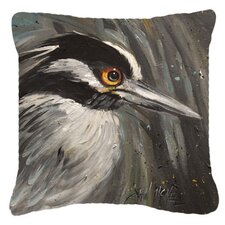 Night Heron Indoor/Outdoor Throw Pillow
