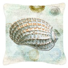 Shells Indoor/Outdoor Throw Pillow