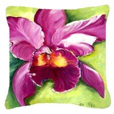 Orchid Indoor/Outdoor Throw Pillow