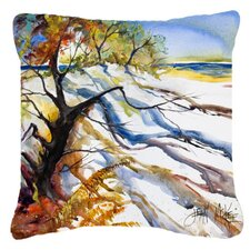 Sand Dune Indoor/Outdoor Throw Pillow