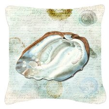 Comparison Shells Indoor/Outdoor Throw Pillow