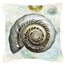 Reviews Shells Indoor/Outdoor Throw Pillow