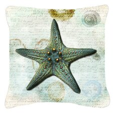 Cheap Starfish Indoor/Outdoor Throw Pillow