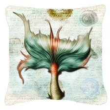 Mermaids and Mermen Tail Indoor/Outdoor Throw Pillow