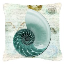 Read Reviews Shells Indoor/Outdoor Throw Pillow