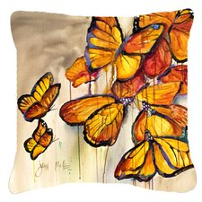 Butterflies Indoor/Outdoor Throw Pillow