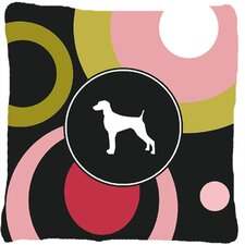 Weimaraner Indoor/Outdoor Throw Pillow
