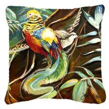 Find Mandarin Pheasant Indoor/Outdoor Throw Pillow