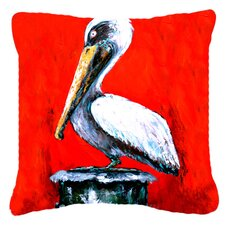 Pelican Red Dawn Indoor/Outdoor Throw Pillow