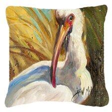 Best #1 White Ibis Indoor/Outdoor Throw Pillow