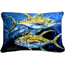 Tuna Indoor/Outdoor Throw Pillow