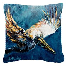 Today Sale Only Pelican Go for It Indoor/Outdoor Throw Pillow