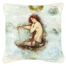 Mermaids and Mermen Indoor/Outdoor Throw Pillow