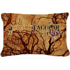 Best  A Spooktacular Day Halloween Indoor/Outdoor Throw Pillow