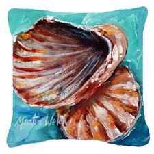 Shells Not in A Row Indoor/Outdoor Throw Pillow