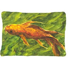 Wonderful Koi Indoor/Outdoor Throw Pillow