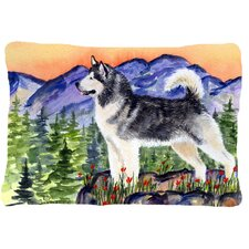 Alaskan Malamute Indoor/Outdoor Throw Pillow
