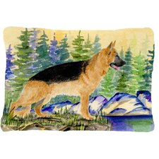 German Shepherd Indoor/Outdoor Throw Pillow