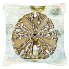 Sale Sand Dollar Indoor/Outdoor Throw Pillow