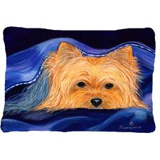 2017 Sale Yorkie Indoor/Outdoor Throw Pillow