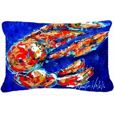 Crawfish Mama Indoor/Outdoor Throw Pillow