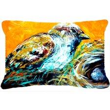 Look at The Birdie Indoor/Outdoor Throw Pillow