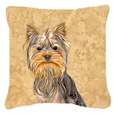 Schnauzer Indoor/Outdoor Throw Pillow