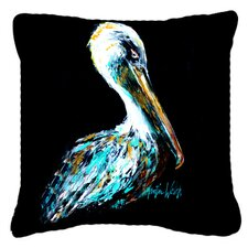 Today Only Sale Dressed in Black Pelican Indoor/Outdoor Throw Pillow