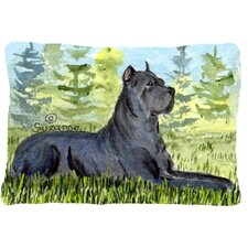 Spacial Price Cane Corso Indoor/Outdoor Throw Pillow