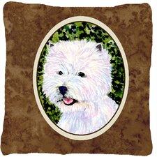 Purchase Westie Indoor/Outdoor Throw Pillow