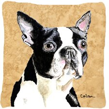 Amazing Boston Terrier Indoor/Outdoor Throw Pillow