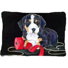 Read Reviews Entlebucher Mountain Dog Indoor/Outdoor Throw Pillow