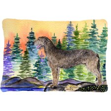 Irish Wolfhound Indoor/Outdoor Throw Pillow