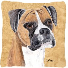 Cool Boxer Indoor/Outdoor Throw Pillow