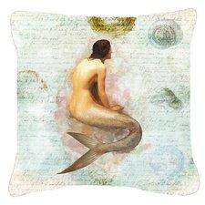 Mermaids and Mermen Indoor/Outdoor Throw Pillow