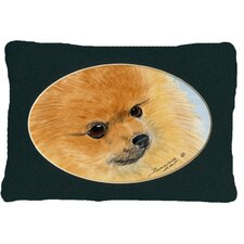 Pomeranian Indoor/Outdoor Throw Pillow