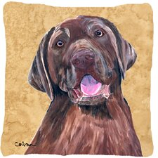 Labrador Indoor/Outdoor Throw Pillow