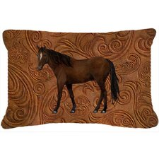 Top Reviews Horse Indoor/Outdoor Throw Pillow